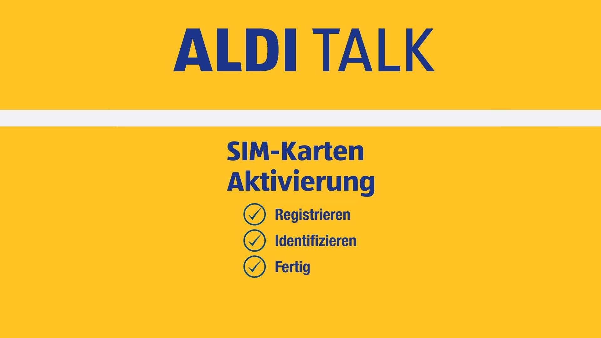 Aldi Talk Willkommensbonus