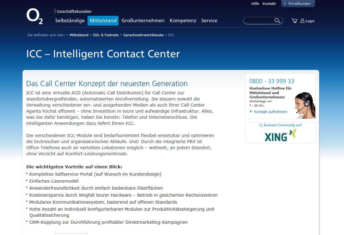 callcenter mit k pfchen intelligent contact center von telef nica germany telef nica deutschland. Black Bedroom Furniture Sets. Home Design Ideas