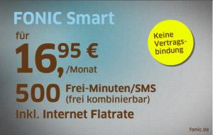 fonic telefonie sms und internet f r 16 95 euro telef nica deutschland. Black Bedroom Furniture Sets. Home Design Ideas