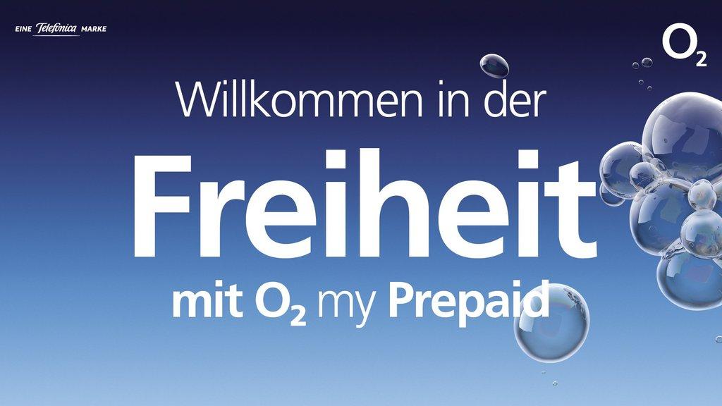 Willkommen In Der Freiheit Von O2 My Prepaid Mega Daten Und